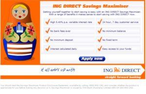 ING copywriter sample